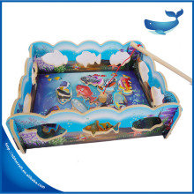 Alibaba best selling fishing game kids felt educational toys