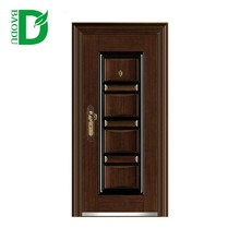 high quality external steel door used metal cheap security doors