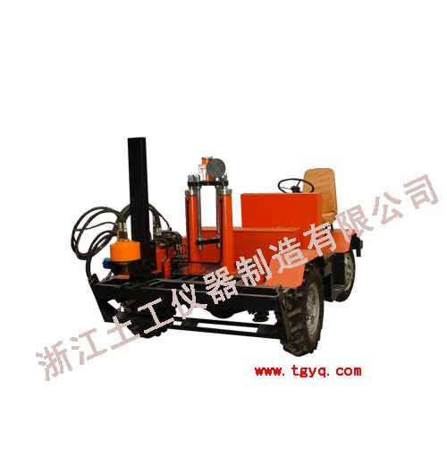 YF STCTC-2 Hydraulic static cone penetrometers crawler type CPT vehicle