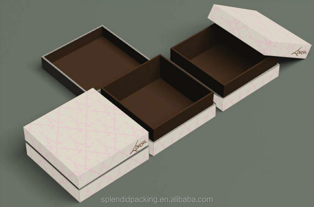 Fashionable Design paper jewellery box