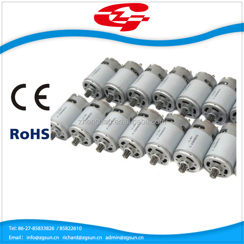 Safety product electric toy car motors with CE rohs 550