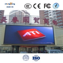 Hot sales Full color 1R1G1B 3in1 2scan SMD P10 big video wall outdoor LED display front service module