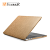 Eco-friendly laptop accessories leather hard retina cover case for Apple mac macbook pro 13 15 inch