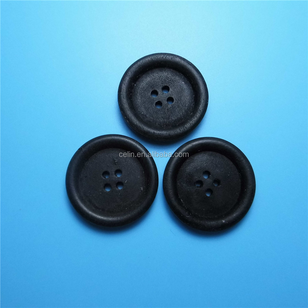 2016 hot selling high quality wooden buttons for jackets and T-shirts garment accessories