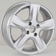 Silver color painting Hyper silver black size 14x5.5 15x6.0 inch Japan car Replica alloy wheel rims