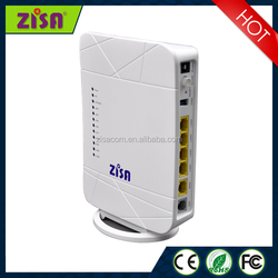 802.11b/g/n 4 Ethernet port 1 WAN port 1 xDSL interface VDSL Router