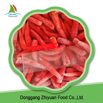 Hot IQF Frozen Red Chilli Pepper With Low Price