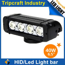 newest good quality 40W led visor light bar high lumens led offroad light bar for sale Atv SUV