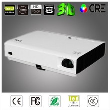 Home theater active shutter 3d android led light projector for smartphones and ipad