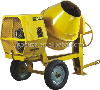CONCRETE MIXER CM350 with diesel engine