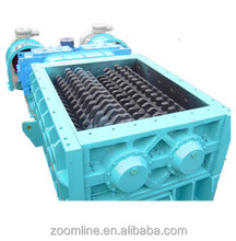 heavy duty twin shaft mineral sizer in reasonable price