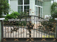 Hot sell beautiful sliding wrought iron gates design for home