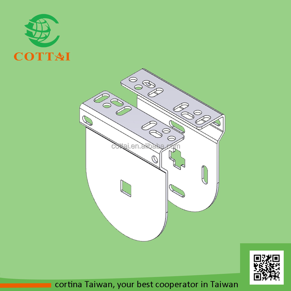 COTTAI roller blind accessory standard steel bracket