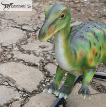 Scdino-536 Amusement Park Equipment Artificial Fiberglass Dinosaur Model for sale