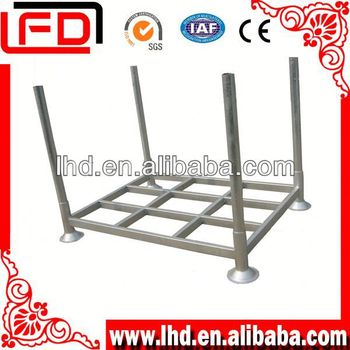widely usage and durable stackable metal storage tyre pallet