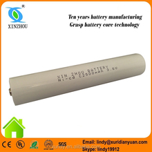 nicd 3.6 volt rechargeable battery pack C2500mah