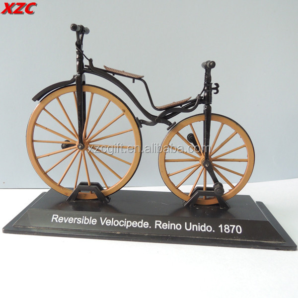 Metal Miniature Bicycle Model Decoration Bicycle Collection