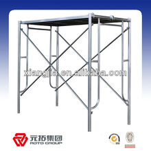 portable scaffolding frame for building