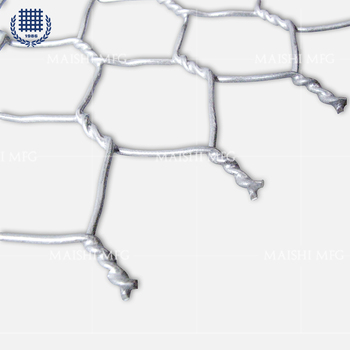 "1"" rat and squirrel protection hexagonal wire mesh"