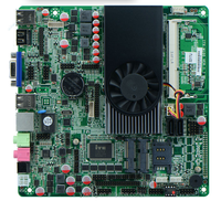 Onboard Intel I3 3217U dual core 1.8GHz Industrial Thin Mini ITX Motherboard With 2HDMI /lLVDS /6*COM