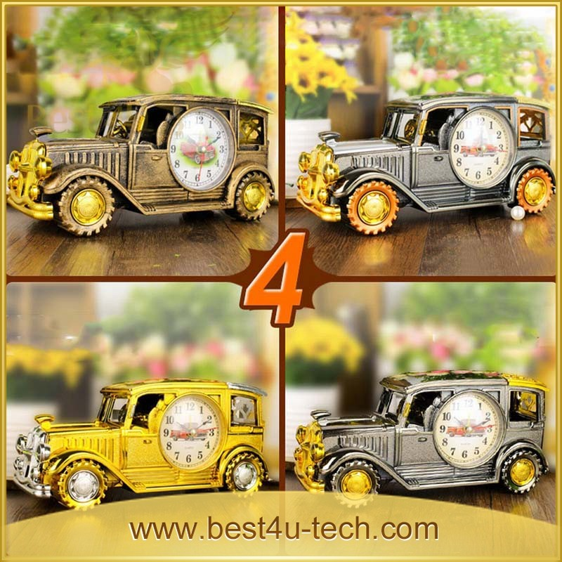 Cheapest Price Special Design Metal Car Modle Alarm Clock