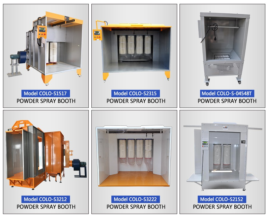 Mini Portable Powder Paint Spray Booth