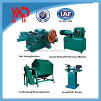 Manufacturing Plants Fully Automatic Used Wire Nail Making Machine/Nails Wire Drawing Machine Price