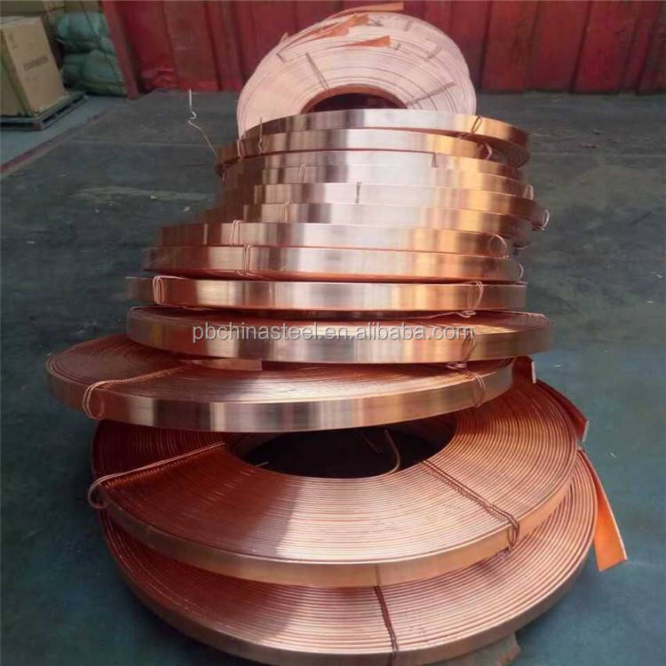 Manufacture Sold And Factory Price copper pipe pancake coil c11100 copper pipe price round copper pipe
