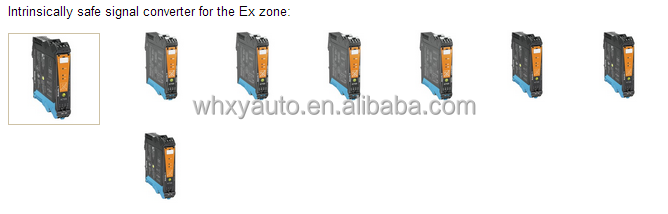 Weidmueller Intrinsically safe signal converter for the Ex zone
