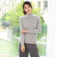 New Women S Pure Color Cashmere