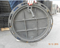 EN124 Cast Iron manhole covers high quality low price