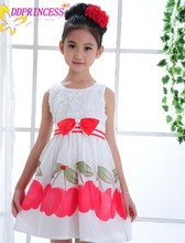 Korean children clothing birthday dress for children