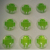 Custom 3D Fridge Buttons Clear Logo Resin Dome Epoxy Sticker