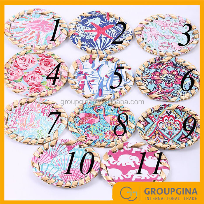 Fashion Inspired Monogram Lilly Sandals Disc