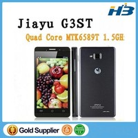 Original JIAYU G3C G3 Mobile Phone WCDMA 3G 3000MAH MTK6582 Android 4.5'' Gorilla Glass Jiayu G3S / G3T Black In Stock !
