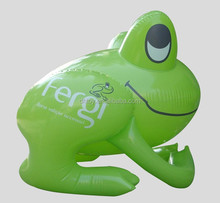big inflatable advertising frog