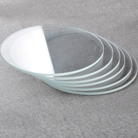 Toughed Borosilicate Round Glass For Measuring