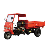 2016 hot sale diesel semi-closed tricycle for mining and building
