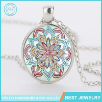 Hot Sale Time Diamond Pendant Necklace Europe And The United States Retro Necklace