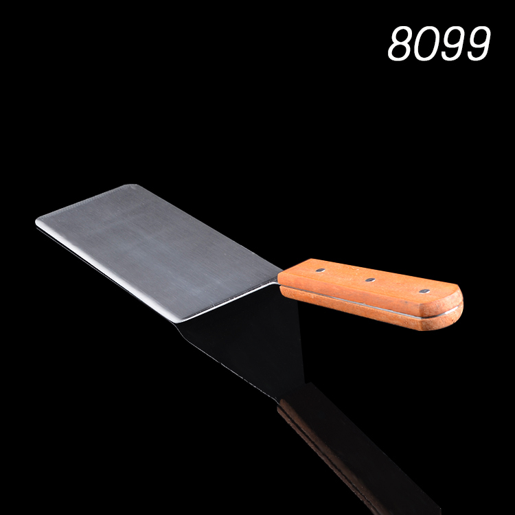 Wholesale New arrIval wooden handle extra large crooked spatula ...