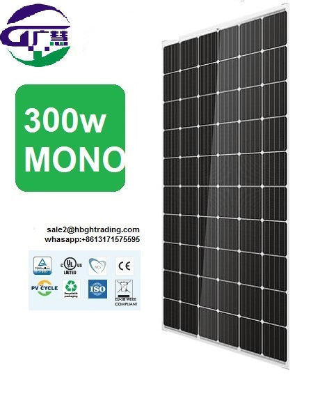 direct from factory attractive price 300w 60v 2mw solar panel
