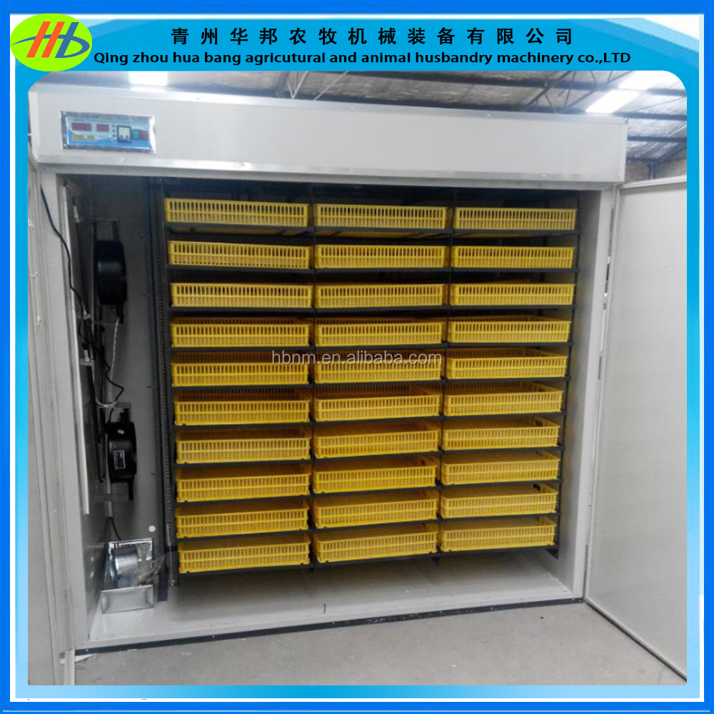 Best quality industrial chicken duck quail egg incubator hatcher setter 5000 eggs capacity for sale