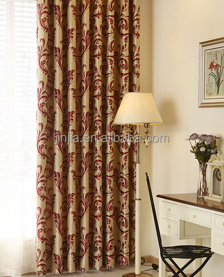 luxury window curtain cafe living room curtain