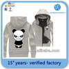 high quality cheap plain women's pullover hoodies