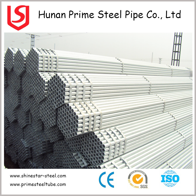 Actual Steel Scaffolding Pipe Weights GI Pipe Standard Length Low Price For GI Pipe Price Per KG