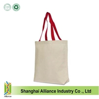 Plain custom canvas tote bag for japan market ALD1237