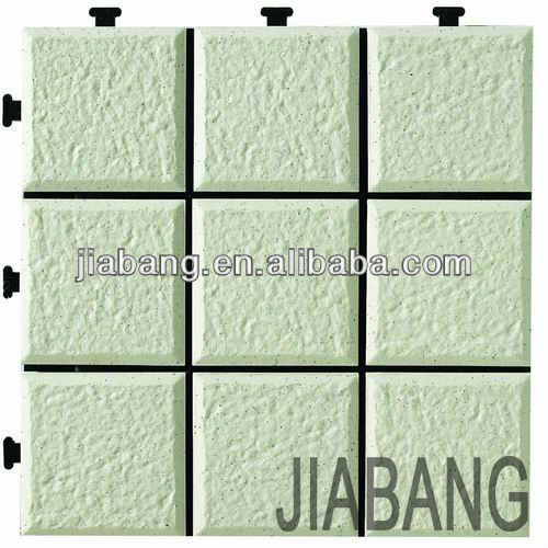 DIY decking Ceramic Garden interlocking Tile - JB5000