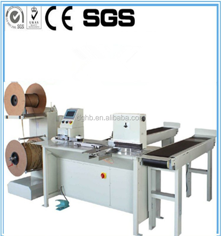 Double wire ring binding machine