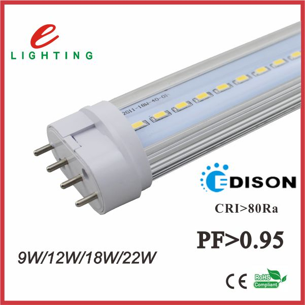 18w 4 pin pl pll lamp 5630 smd 2g11 led tube fpl replacement