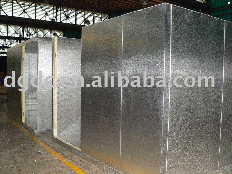 Copeland air cooled compressor freezer room embossed aluminum surface